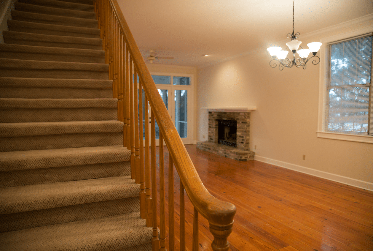 19301 Scenic Hwy 98 Stairs from Living Room
