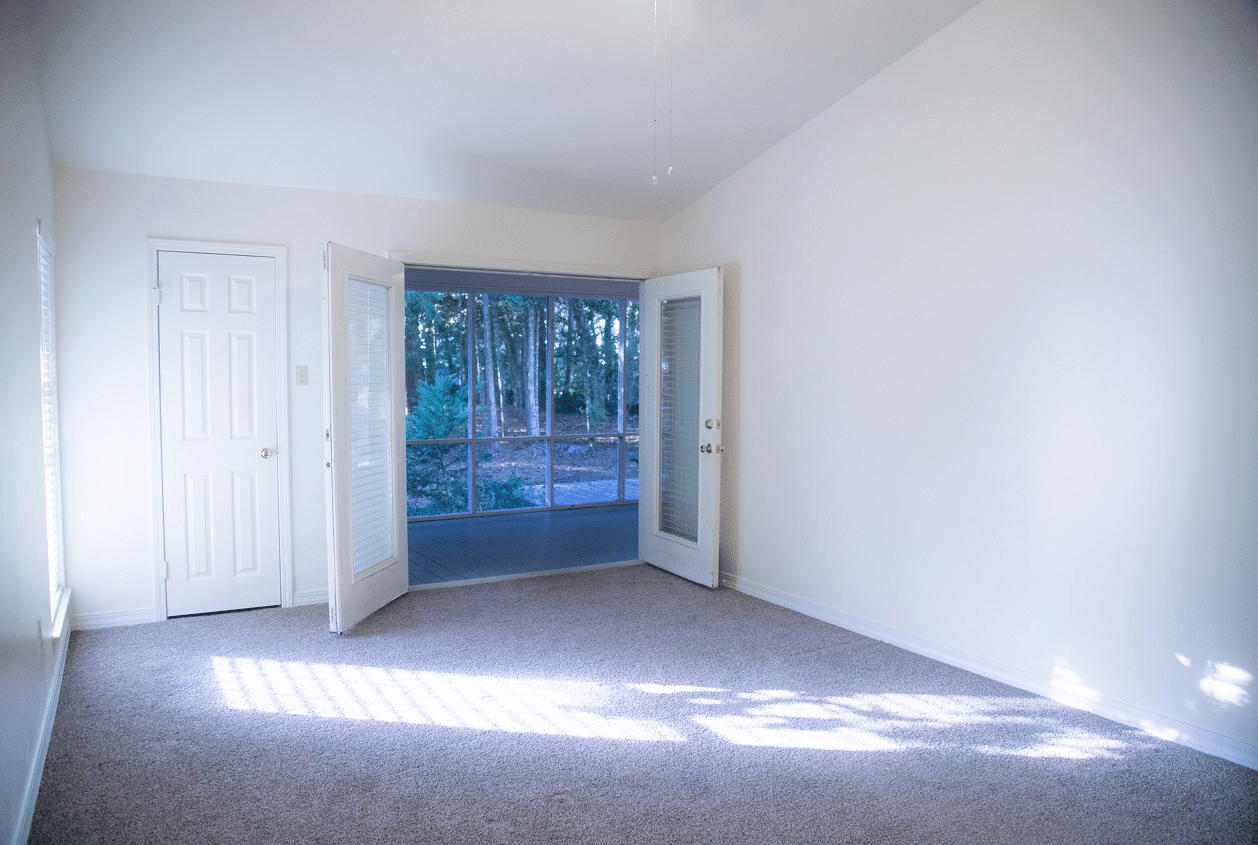 Master Bedroom Leading to Screened Porch
