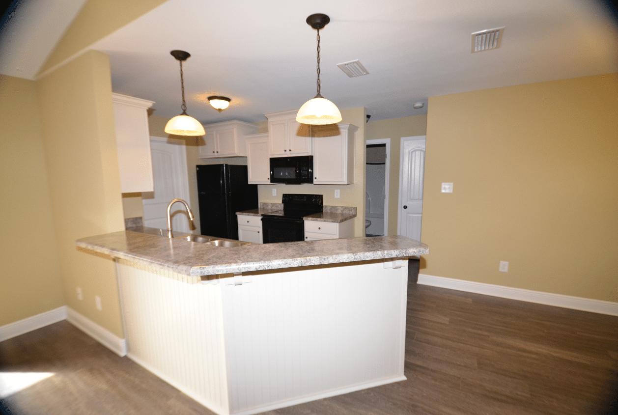 206 Summerfield Drive View into Kitchen