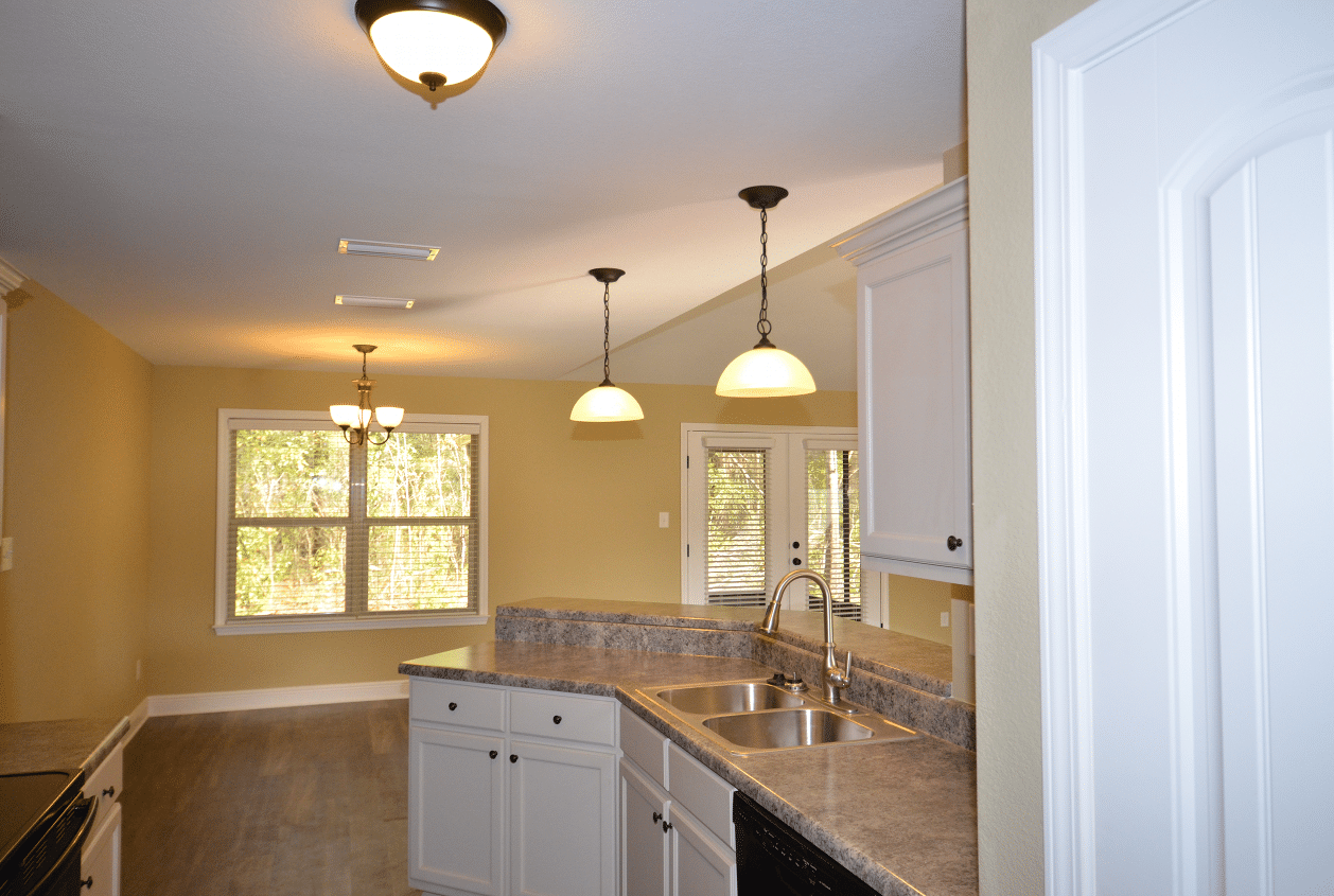 206 Summerfield Drive Kitchen View into Dining Room
