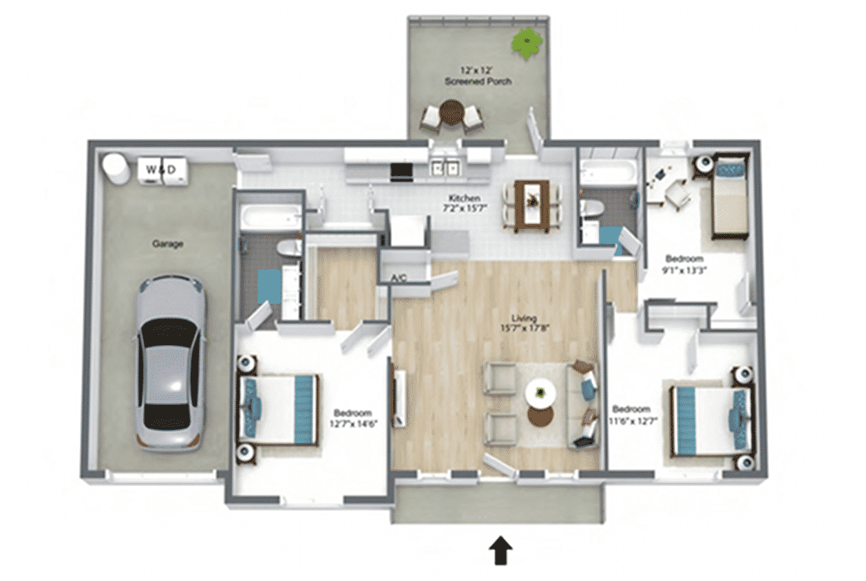 South-Pointe-Dogwood-Floor-Plan