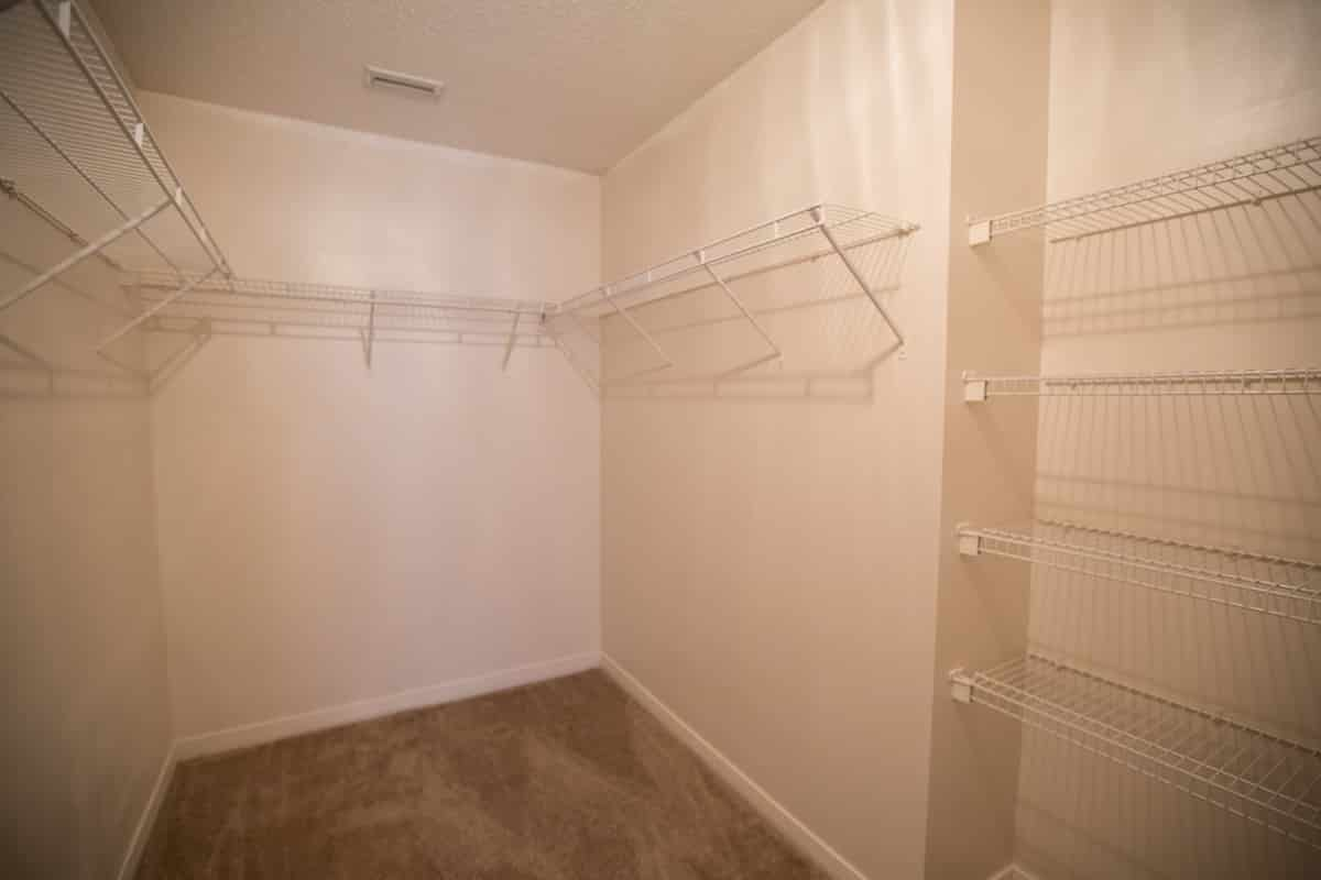 1212 Springfield Drive Master Walk-in Closet