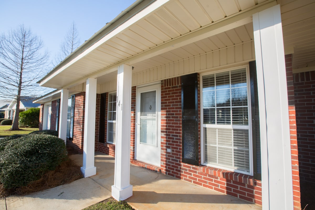 141 Summerfield Drive Front Porch
